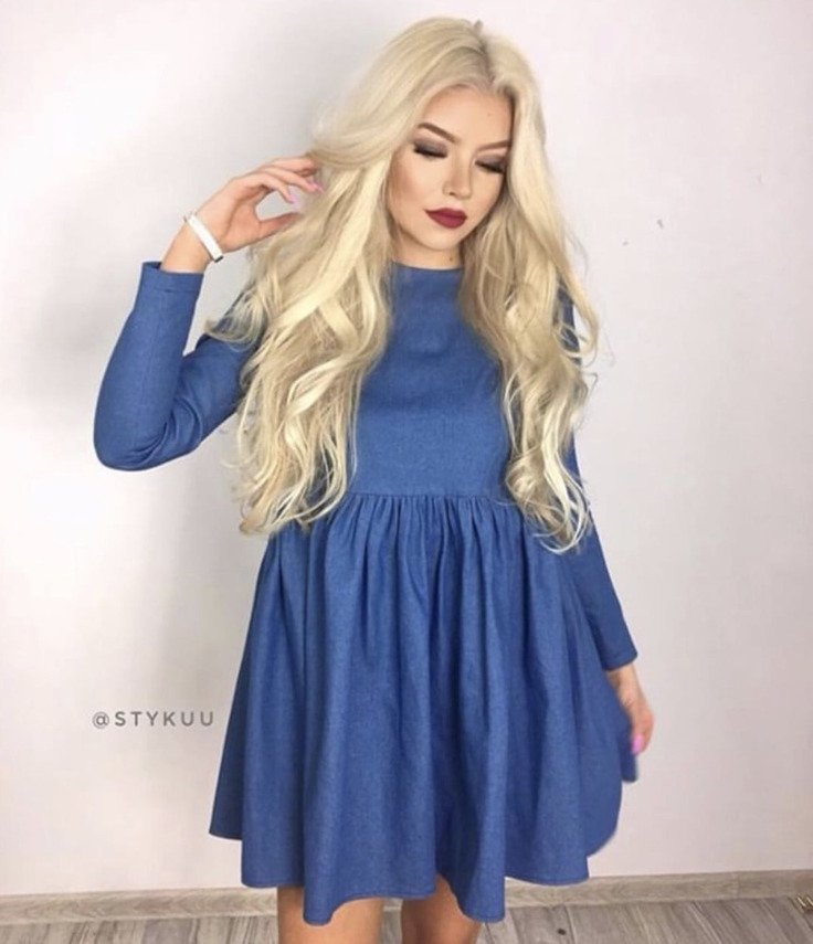 DEISY JEANS DRESS