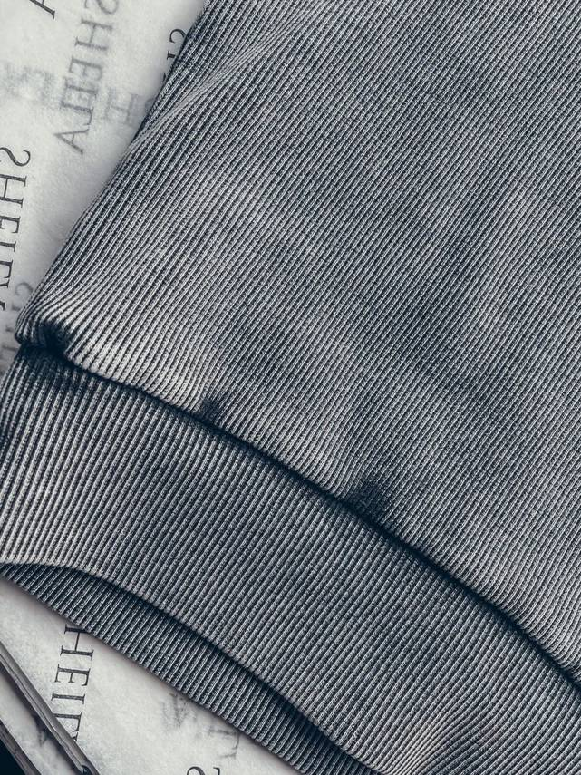 GRAY BLOUSE WITH LONG SLEEVES WITH A WASHED EFFECT   SHEILA SS21